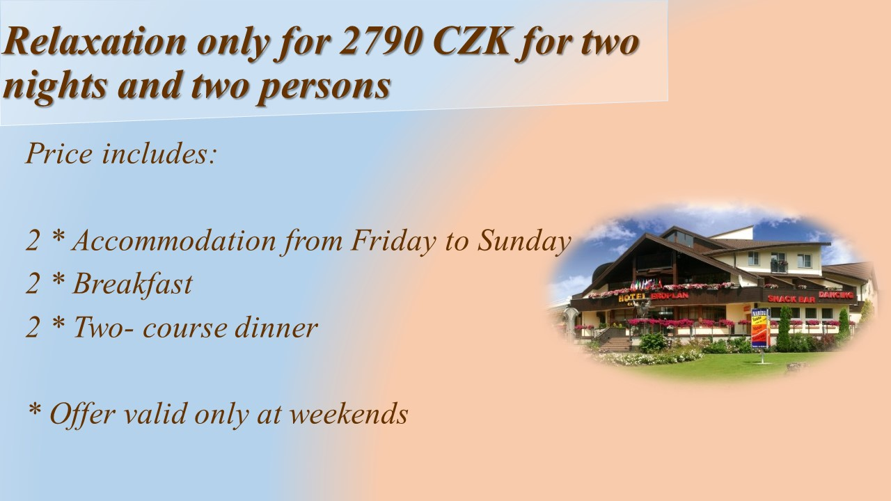 Special Weekend offer in ****Hotel Eroplan Superior