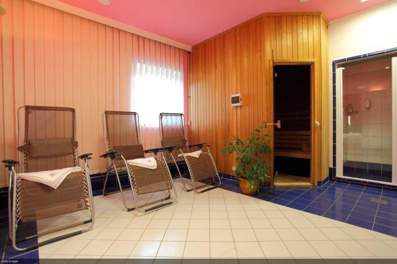 Private finnish sauna hotel Eroplan