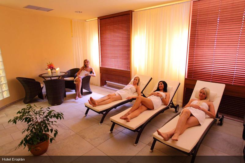 Wellness resting place - hotel Eroplan